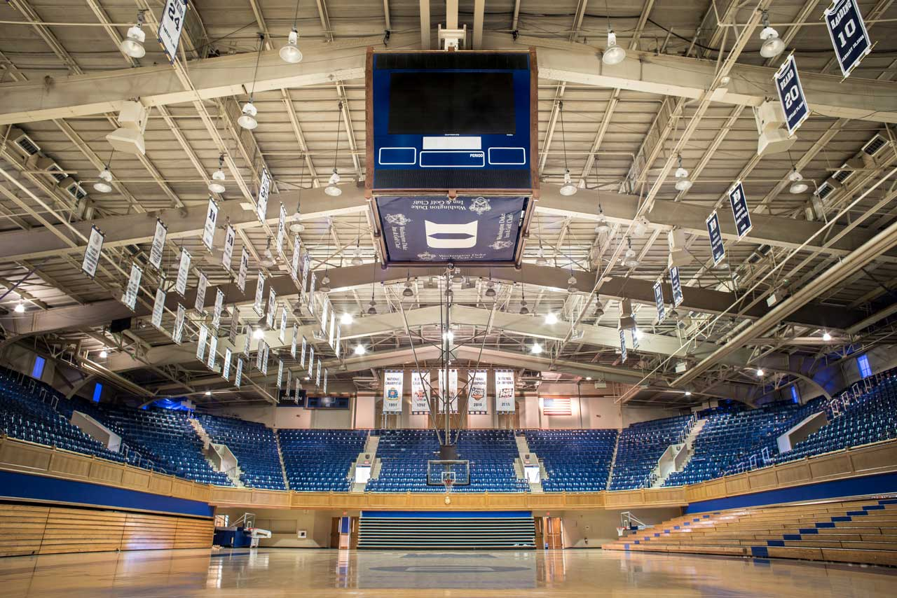 Cameron Indoor Stadium Basketball Court