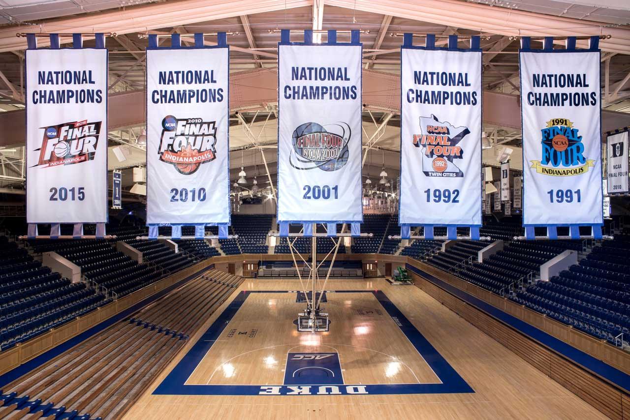NCAA Championship Banners