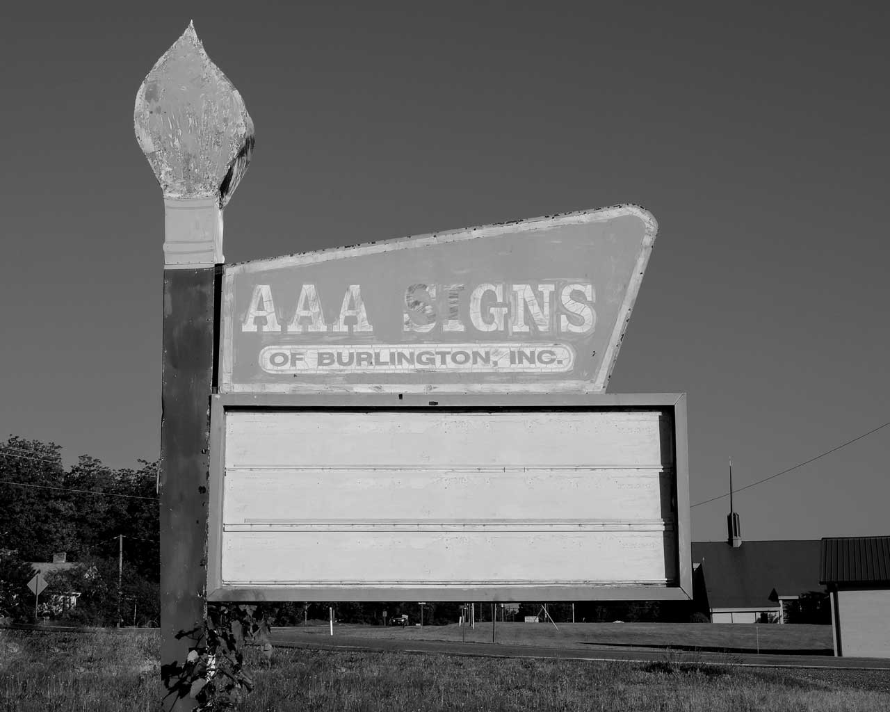 AAA Signs Burlington Sign on Highway 87